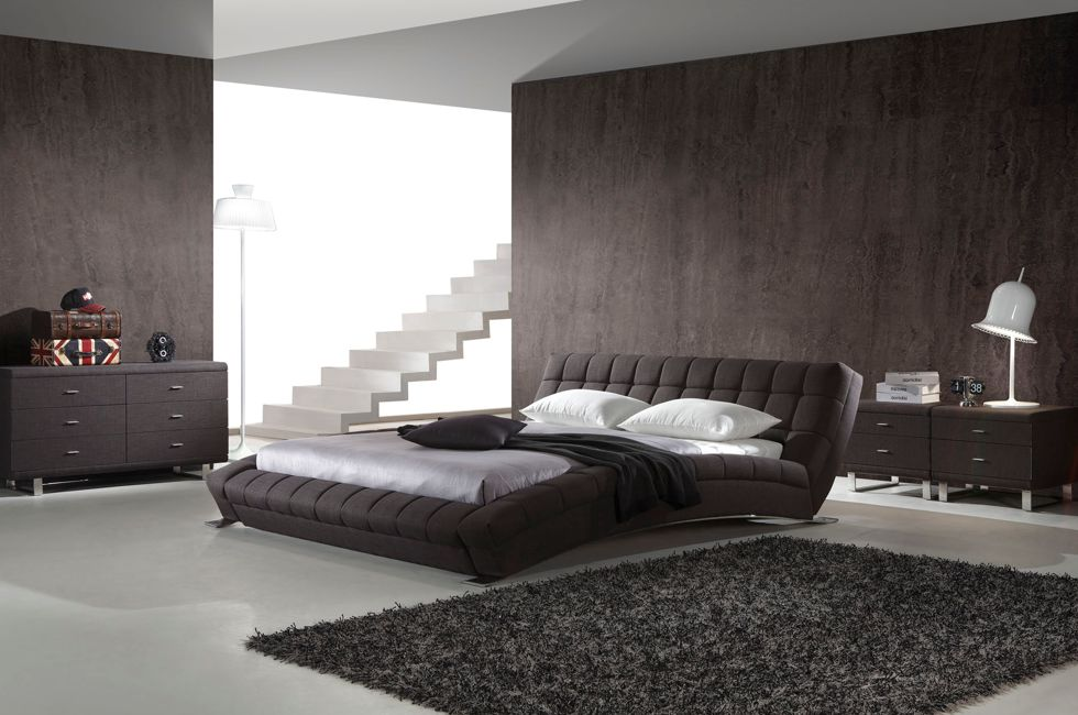 Barcelona Fabric Bed