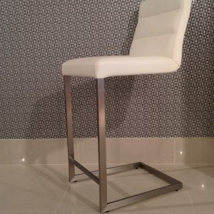 6398K | Leather Barstool