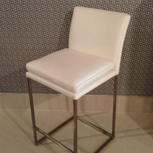 6465K | Leather Barstool