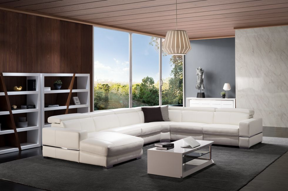 Leather Modular Lounge Suites