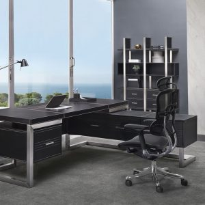 GF-217A Leather Office Desk