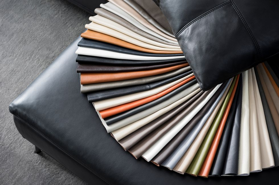Leather Colour Range