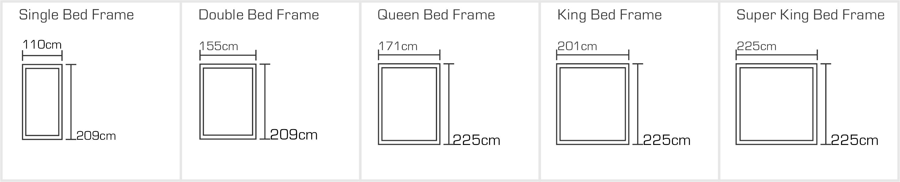 Vienna Bed Sizes