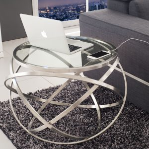 Boma Glass Side Table