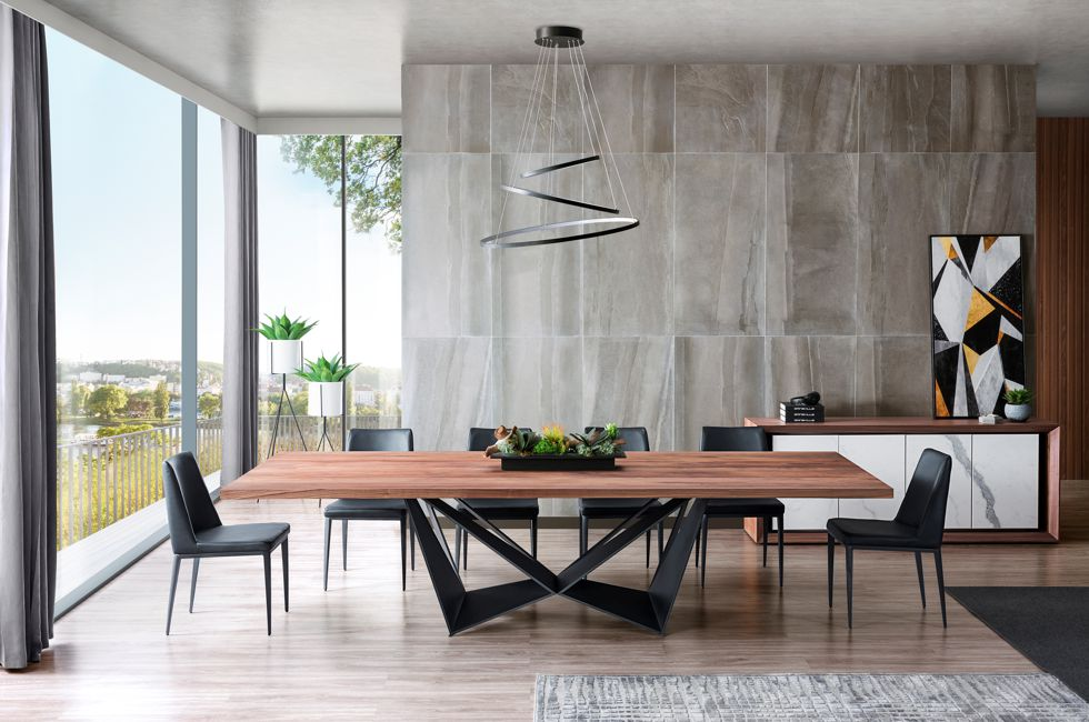Tuscan Dining Table with Walnut Timber Top 980px x 650px (1)