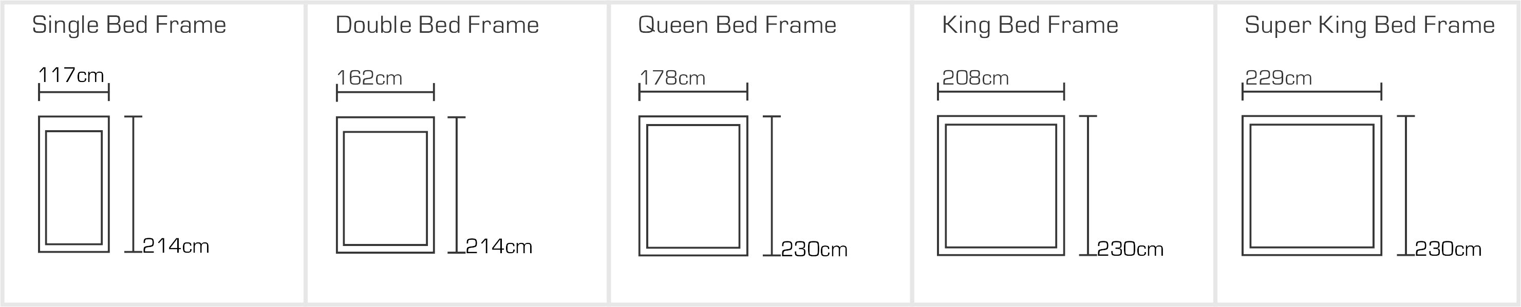 Windsor Bed Sizes