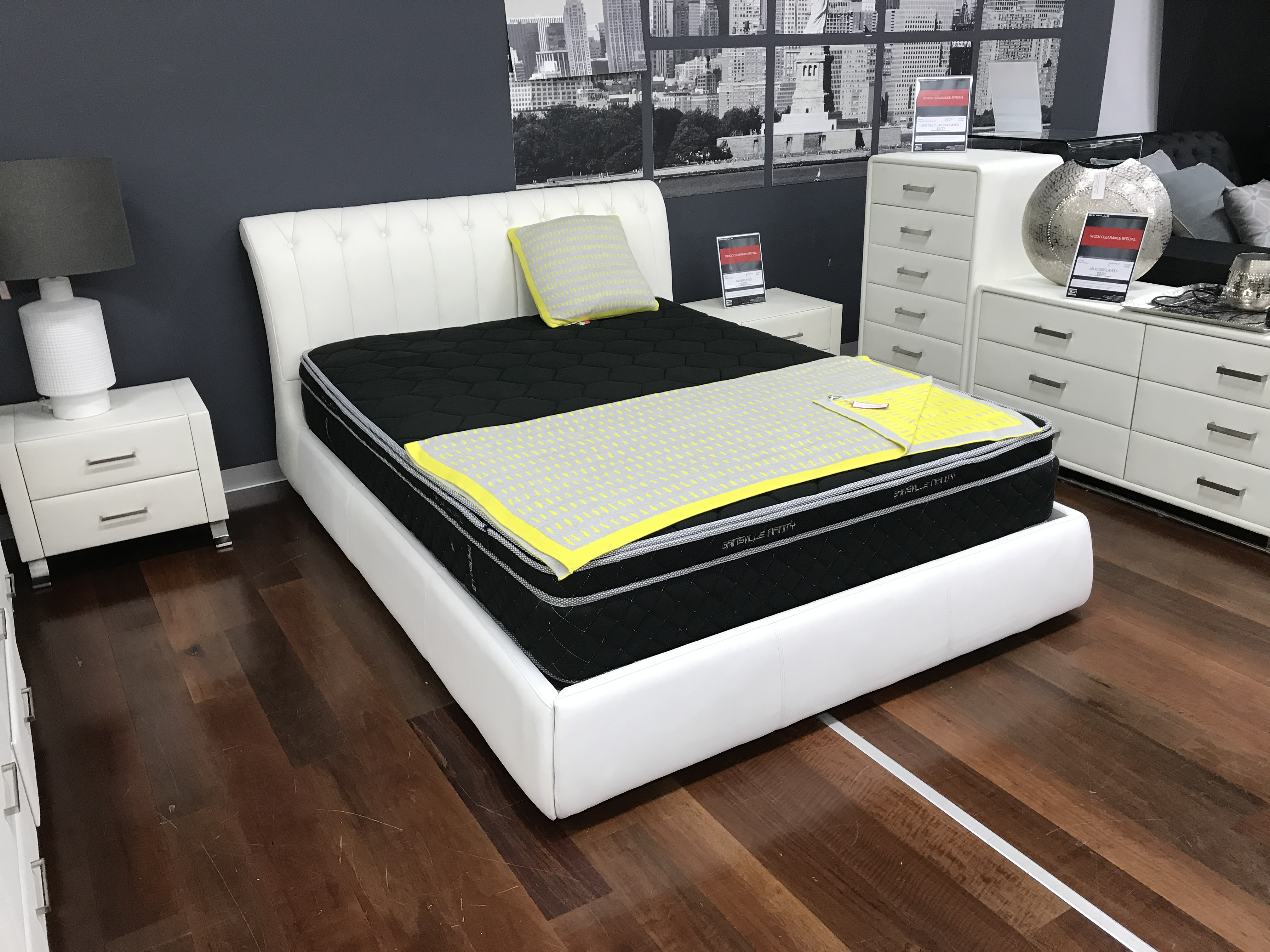 bed leather white of benefits details black allin full size the frame image