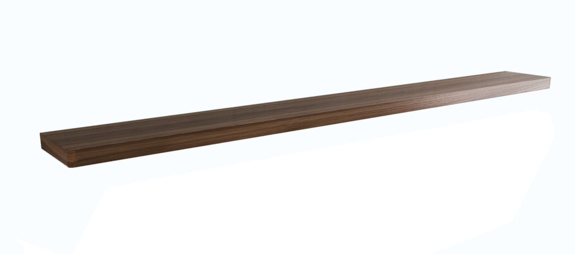 Brando Floating Shelf 220cm Walnut 311 (1)