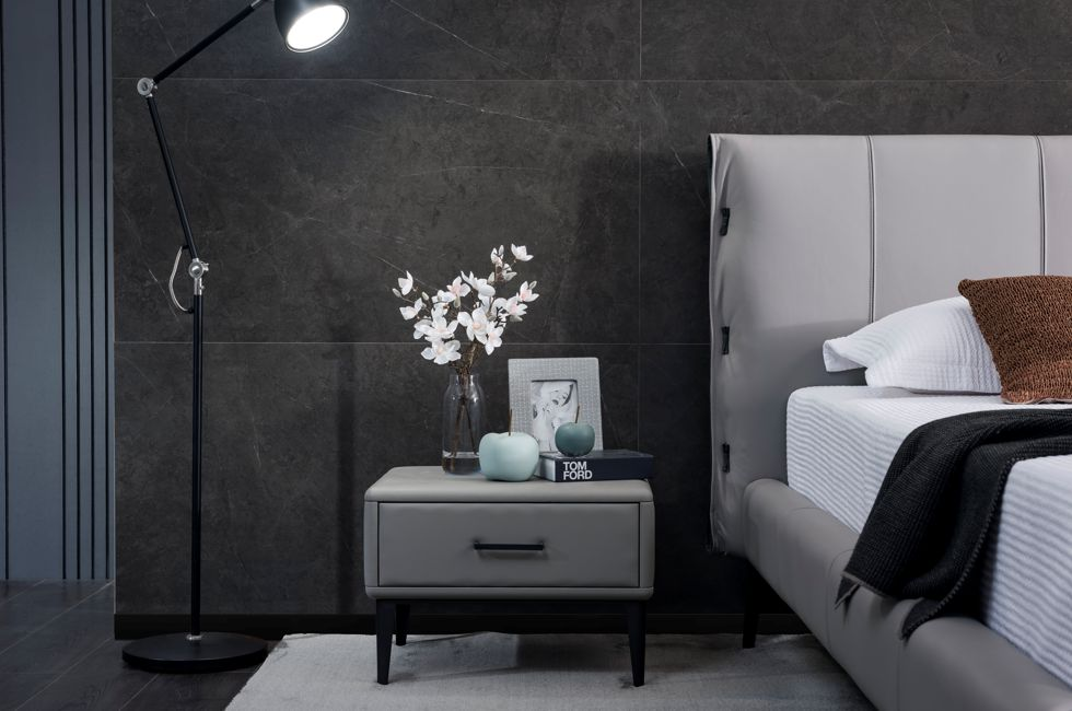 G19 Bedside Table with Moab Bed