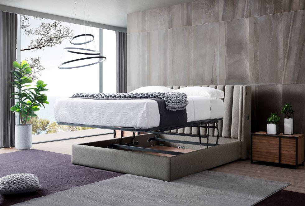 Charlotte Modern Storage Bed