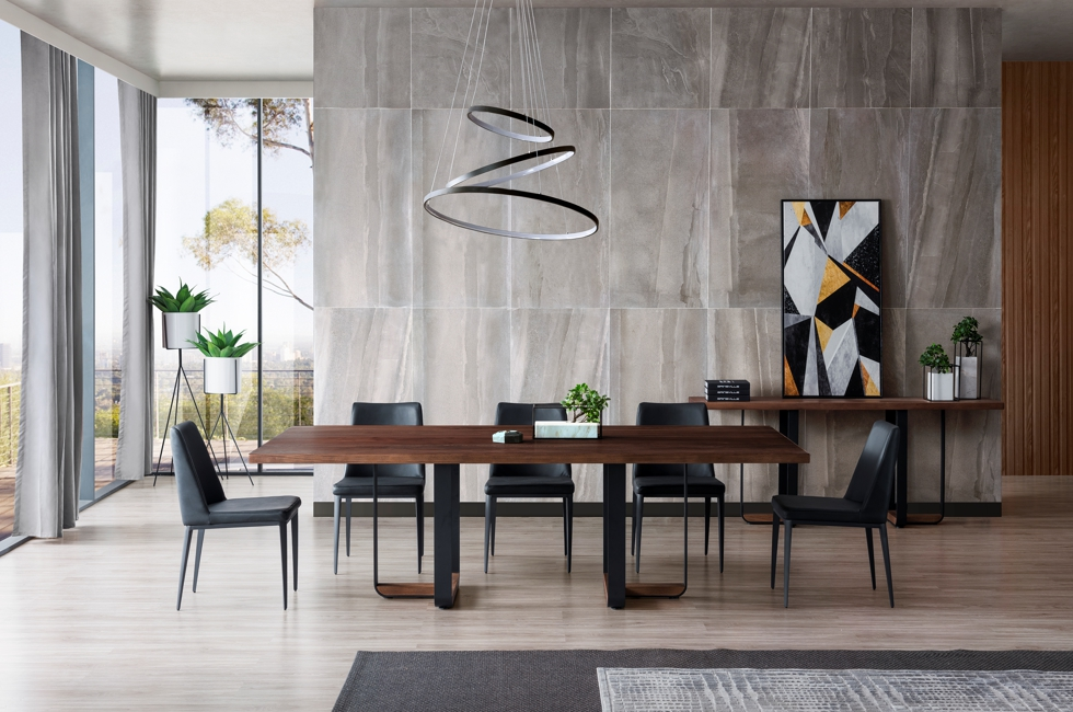Dakota American Ash Timber Dining Table 980px x 650px (1D)