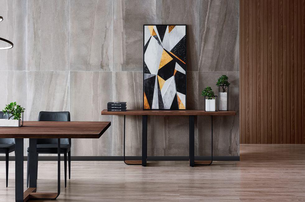 Dakota American Ash Timber Dining Table 980px x 650px (4D)
