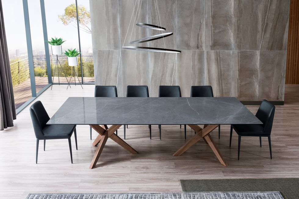 Orion Rectangle Timber and Stone Dining Table (1) 980px