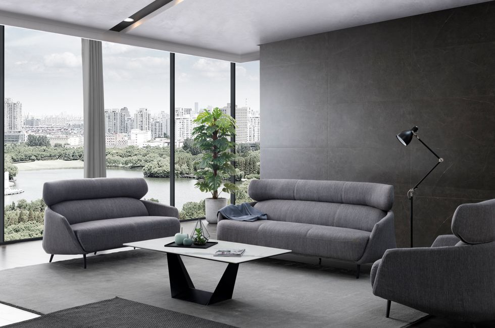 Monza Sofa with Veyron Coffee Table