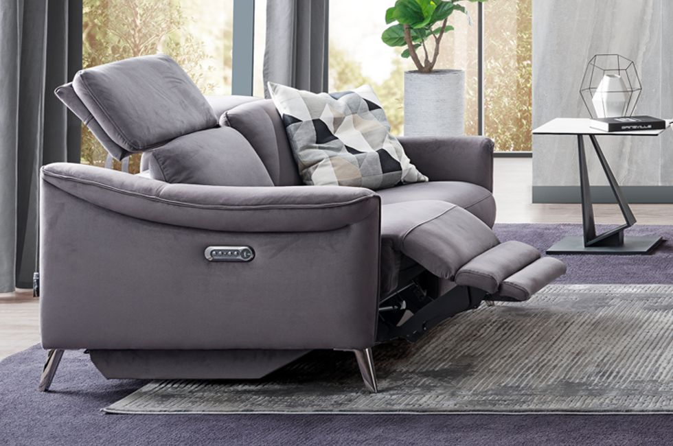 Aman Recliner Sofa with USB