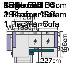 Combo 5A 291cm x 166cm Website Diagram (1)