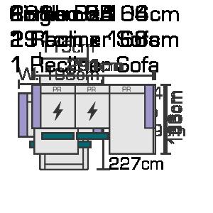 Combo 5B 291cm x 166cm Website Diagram (1)