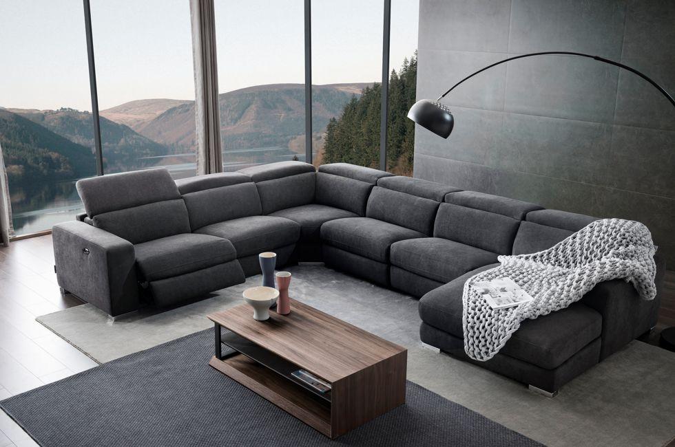 Montana Corner Fabric Sofa