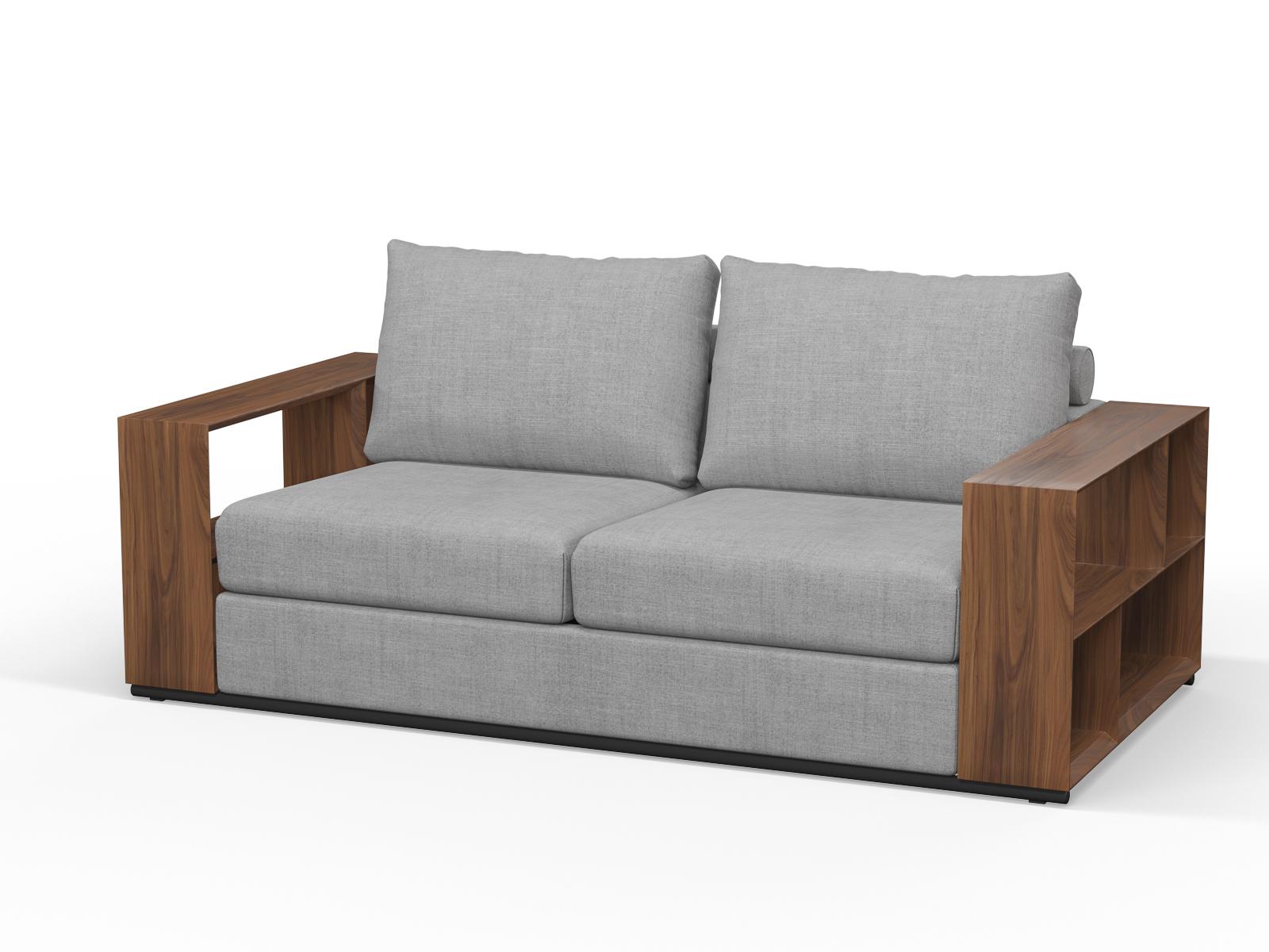 200cm x 100cm LTA RTA Walnut Timber