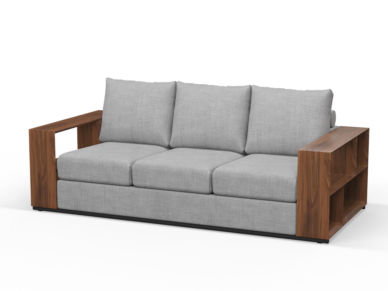 220cm x 100cm LTA RTA Walnut Timber