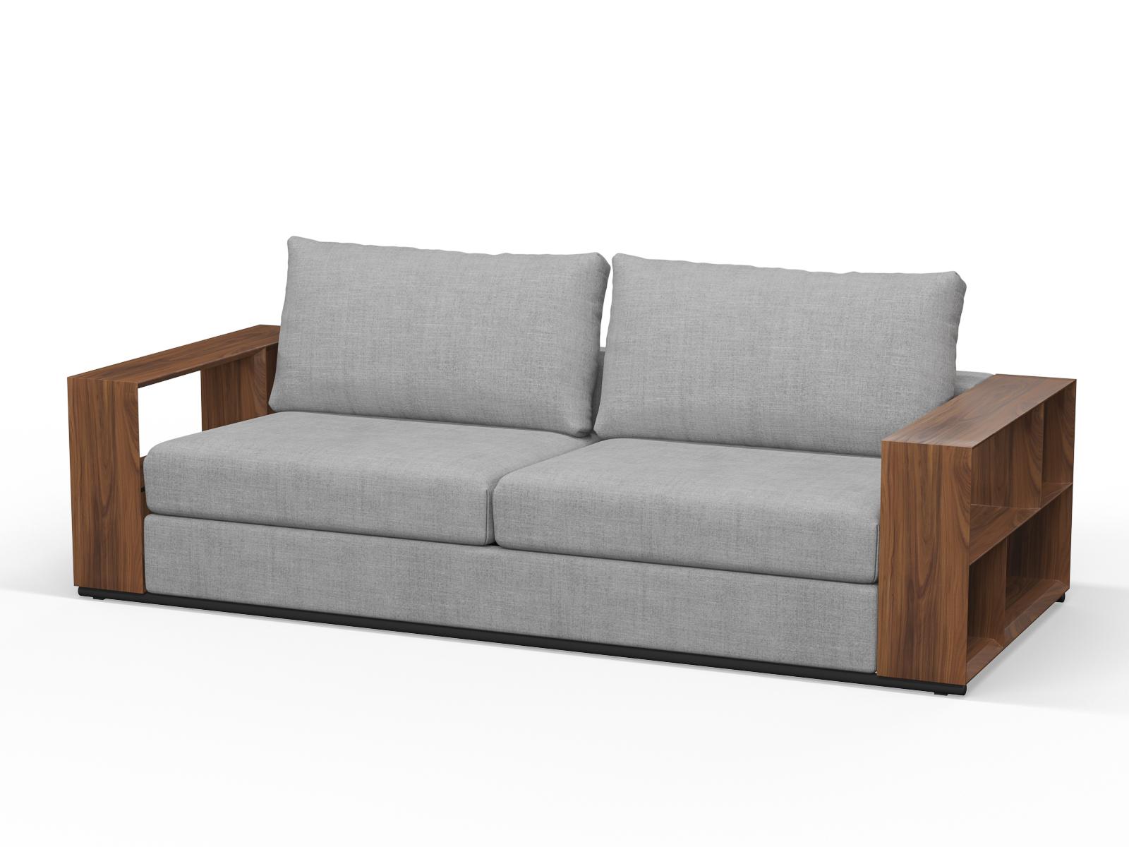 240cm x 100cm LTA RTA Walnut Timber