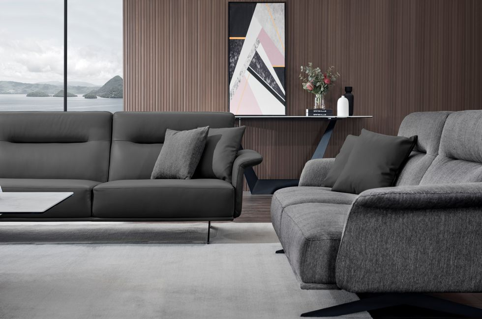 Compact Arm of the Monica Sofa