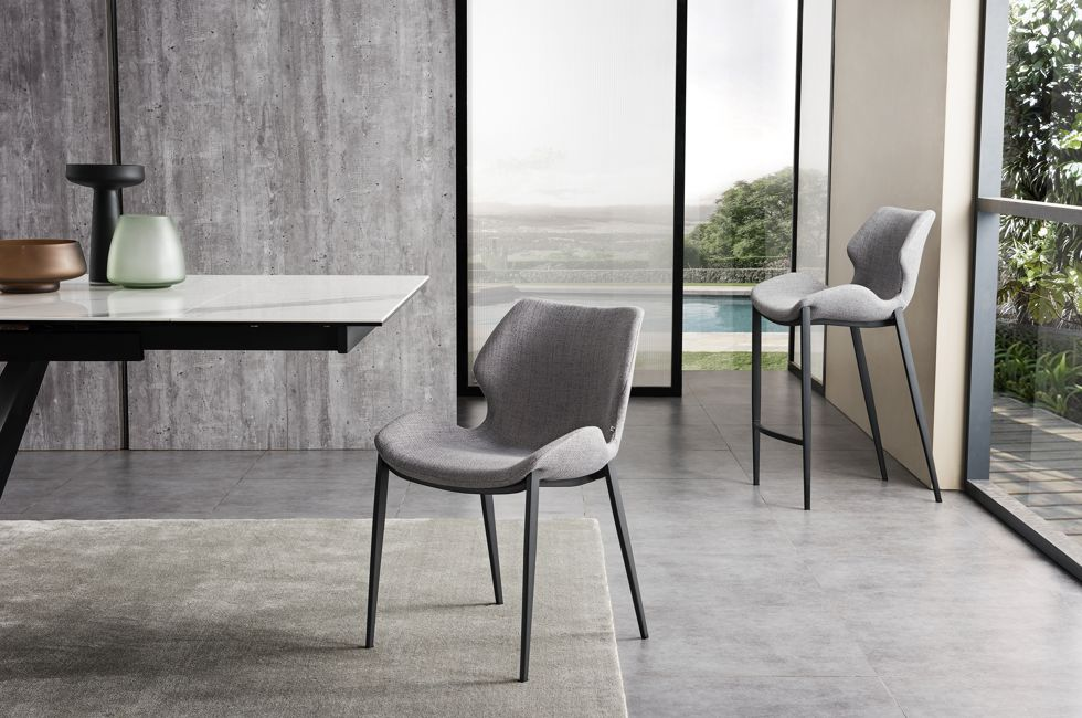 Viva Dining Chair and Barstool in FB-LEO Fabric 980px x 650px (1)