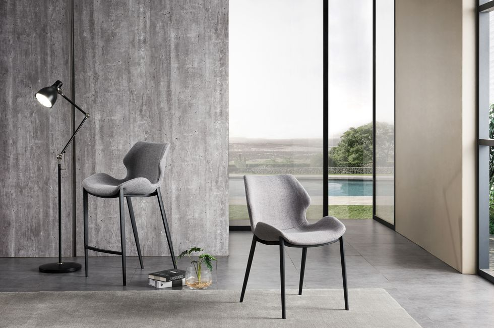 Viva Dining Chair and Barstool in FB-LEO Fabric 980px x 650px (2)