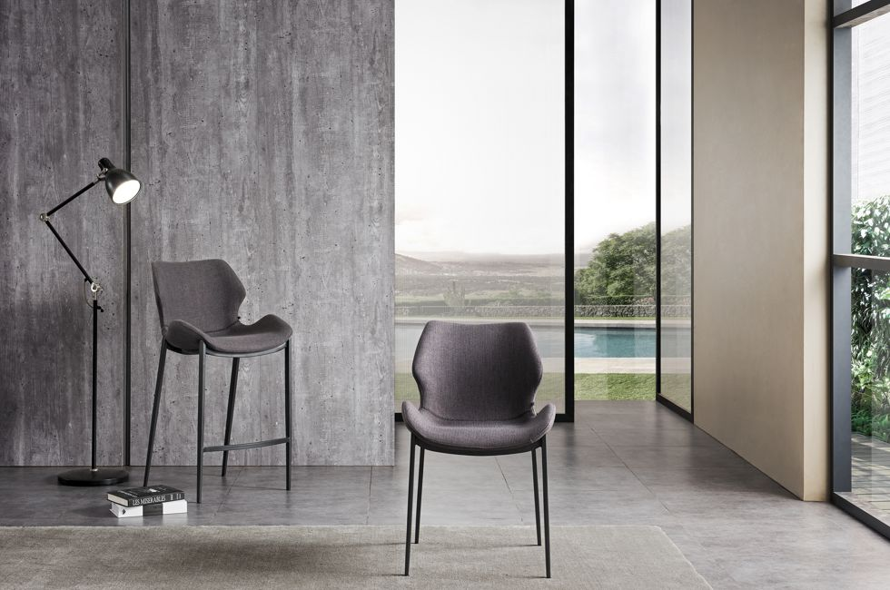 Viva Dining Chair and Barstool in FB-LEO Fabric 980px x 650px (3)