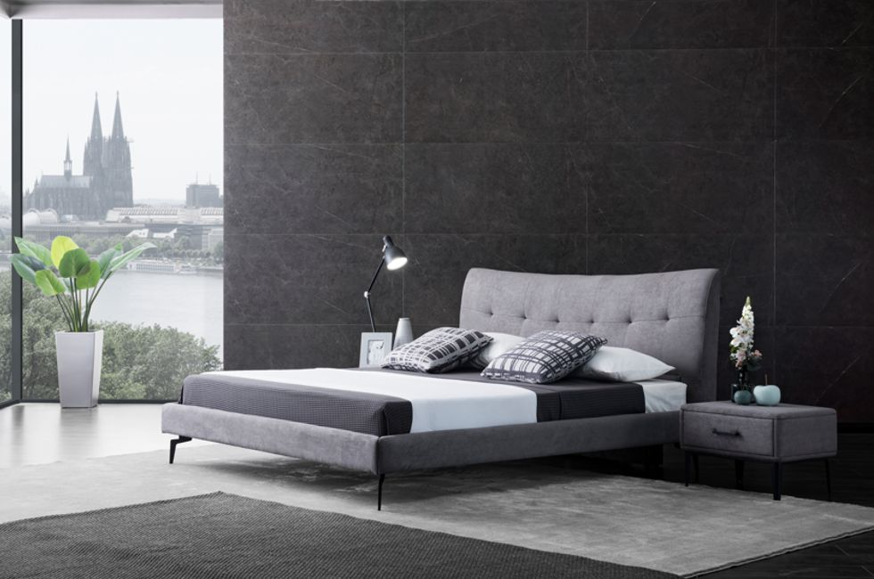 Vira Contemporary Bed