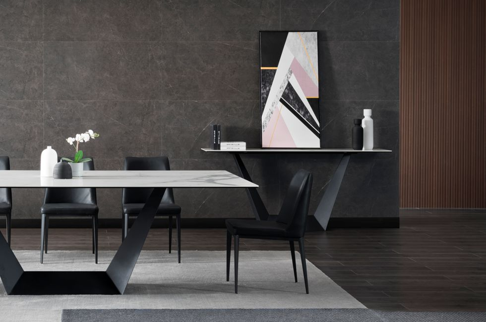Veyron Stone and Black Hall Table 980px x 650px (2)
