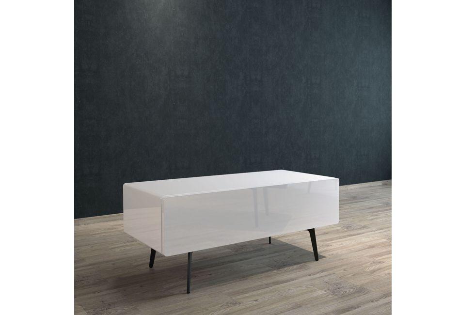 Brando 112cm Free Standing Tv Unit with Gloss White Doors 980px x 650px (1)